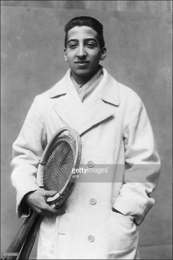 Unlocated and undated picture showing Rene Lacoste ab8c5b0fbc569