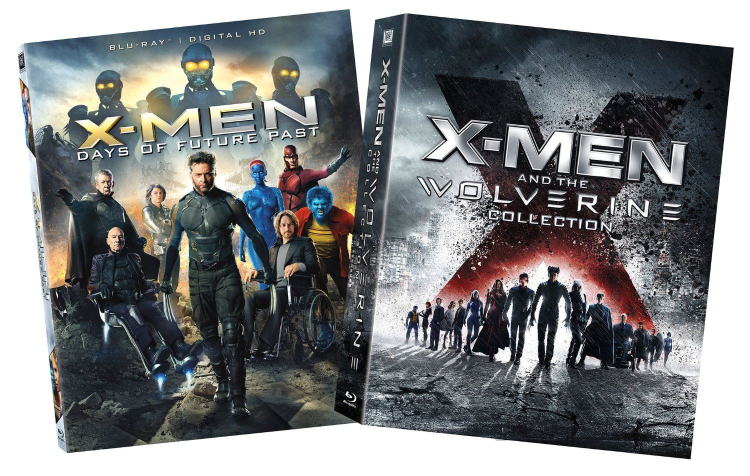 X Men Days Of Future Past And Wolverine Collection Blu Ray 31 98 Reg 99 99 X Men Days Of Future Past Blu Ray