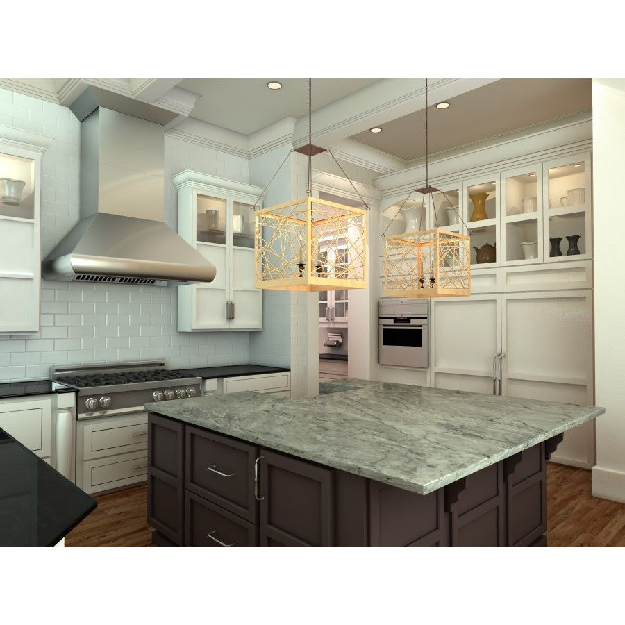 Image result for professional range hood to ceiling ...