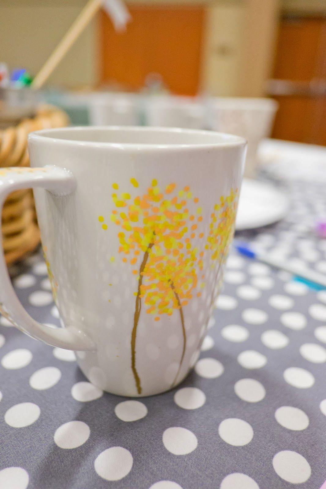 Diy Paint Pen Coffee Mugs Mrs Yankleys Cl