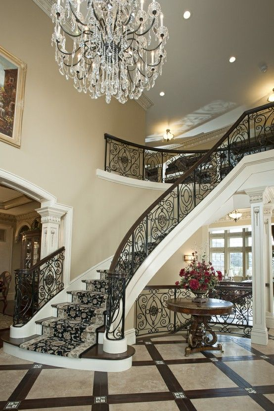 Best In This Grand Entry Way A Nourison Sultan Persian Stair 400 x 300
