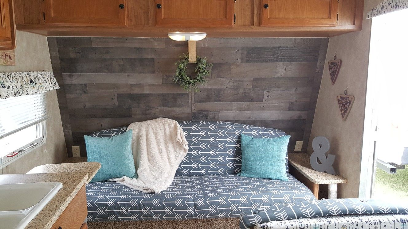 Camper Revampers Faux Pallet Wall Home Decor Pallet Wall Home