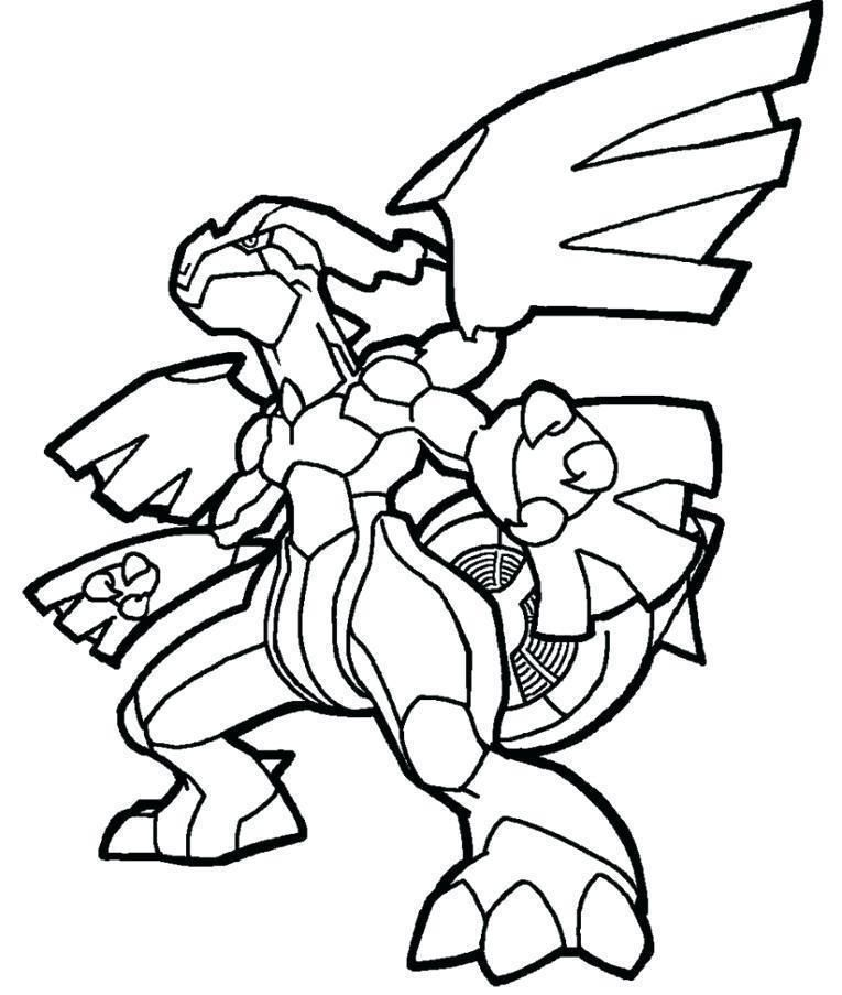 Coloring Page Pokemon Zekrom Pokemon Coloring Pages Coloring