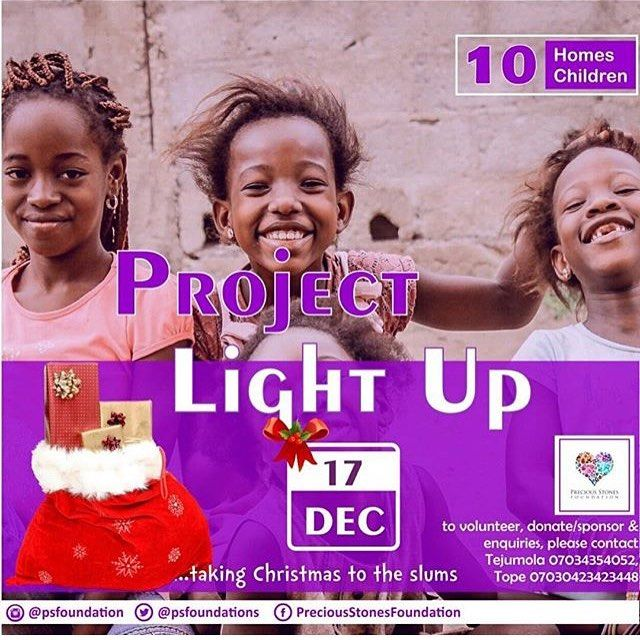Let's take Christmas to the slums with @psfoundation ! Volunteer ! Donate ! Sponsor !