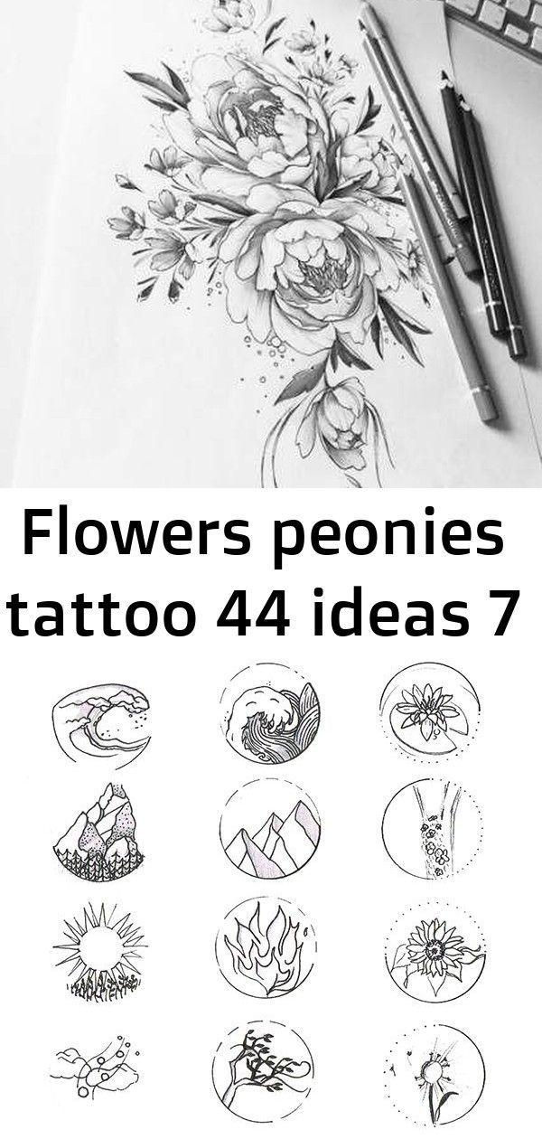 Flowers peonies tattoo 44 ideas 7 -  Flowers peonies tattoo 44 Ideas #tattoo #flowers Sketch book scans on Behance Lockscreens/ backgrou - #flowers #ideas #microtattoo #peonietattoo #peonies #seedlingtattoo #somoantattoo #tattoo #tattoomoon #tattoounique #tattoosbook #iphonelockscreen