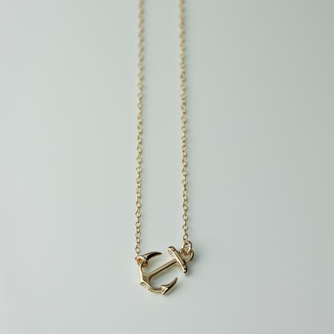 ANCHOR NECKLACE Anchor necklace