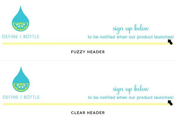 How To Fix A Fuzzy Or Pixelated Mailchimp Header Blog Design Fuzzy Craft Blog