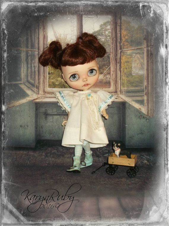 Blythe   Girls Play Dress   19th Century Inspired     by KarynRuby