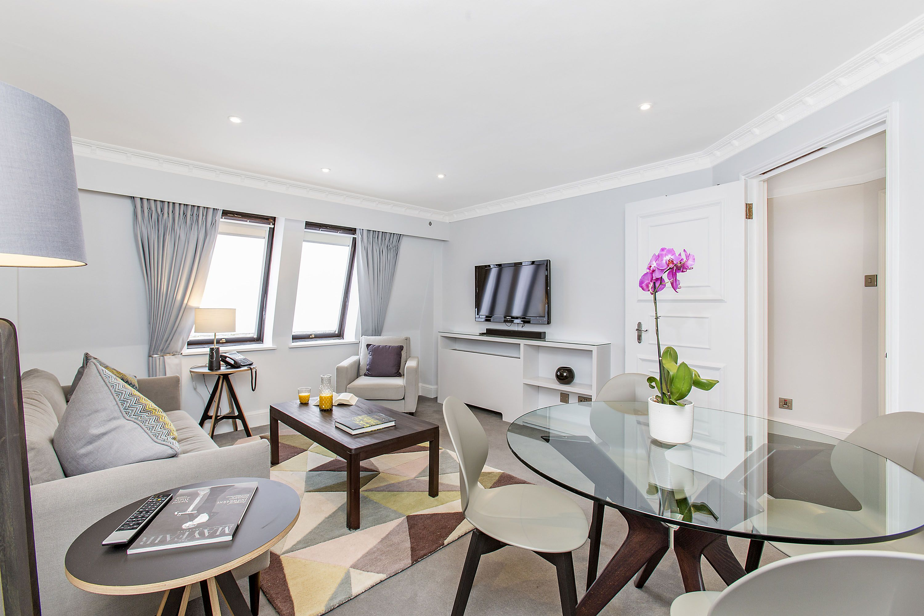 One Bedroom apartments located on the 4th Floor. The