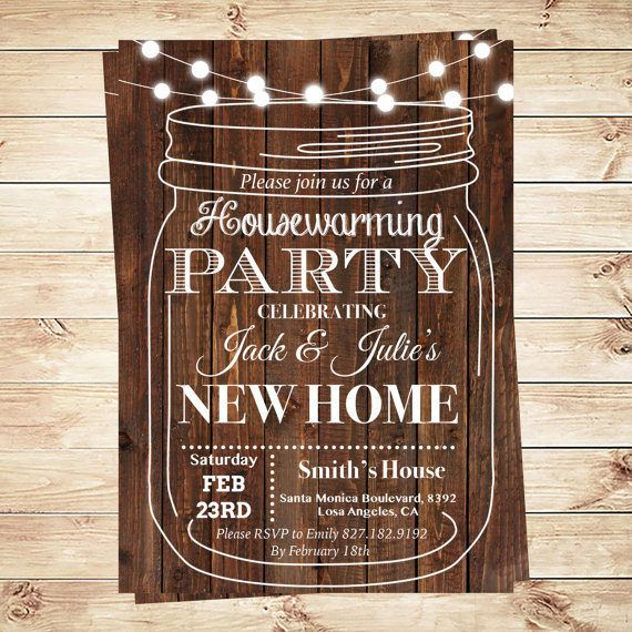 Housewarming bbq invite Housewarming invitation templates Debbie
