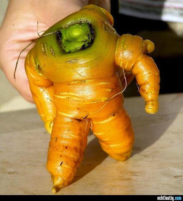 Auch Gemüse können menschliche Züge haben.