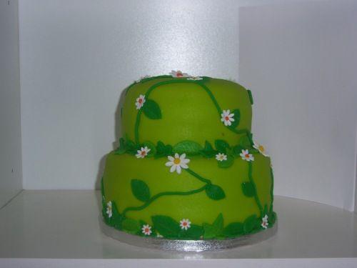 taart groen groen met madeliefjes (Pagina 1)   Bruids  en Stapeltaarten   Het  taart groen