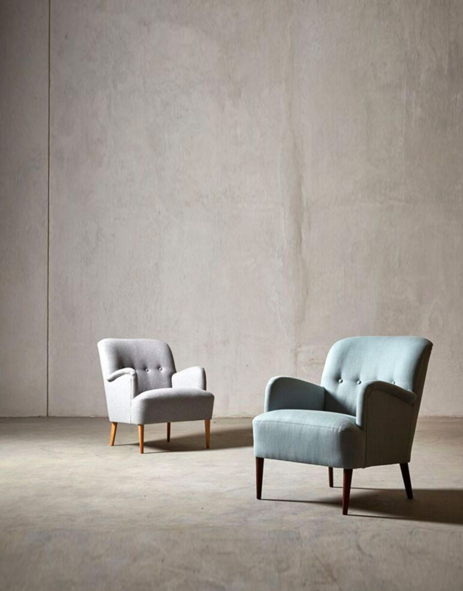 London | Armchairs, Interiors and Sitting rooms