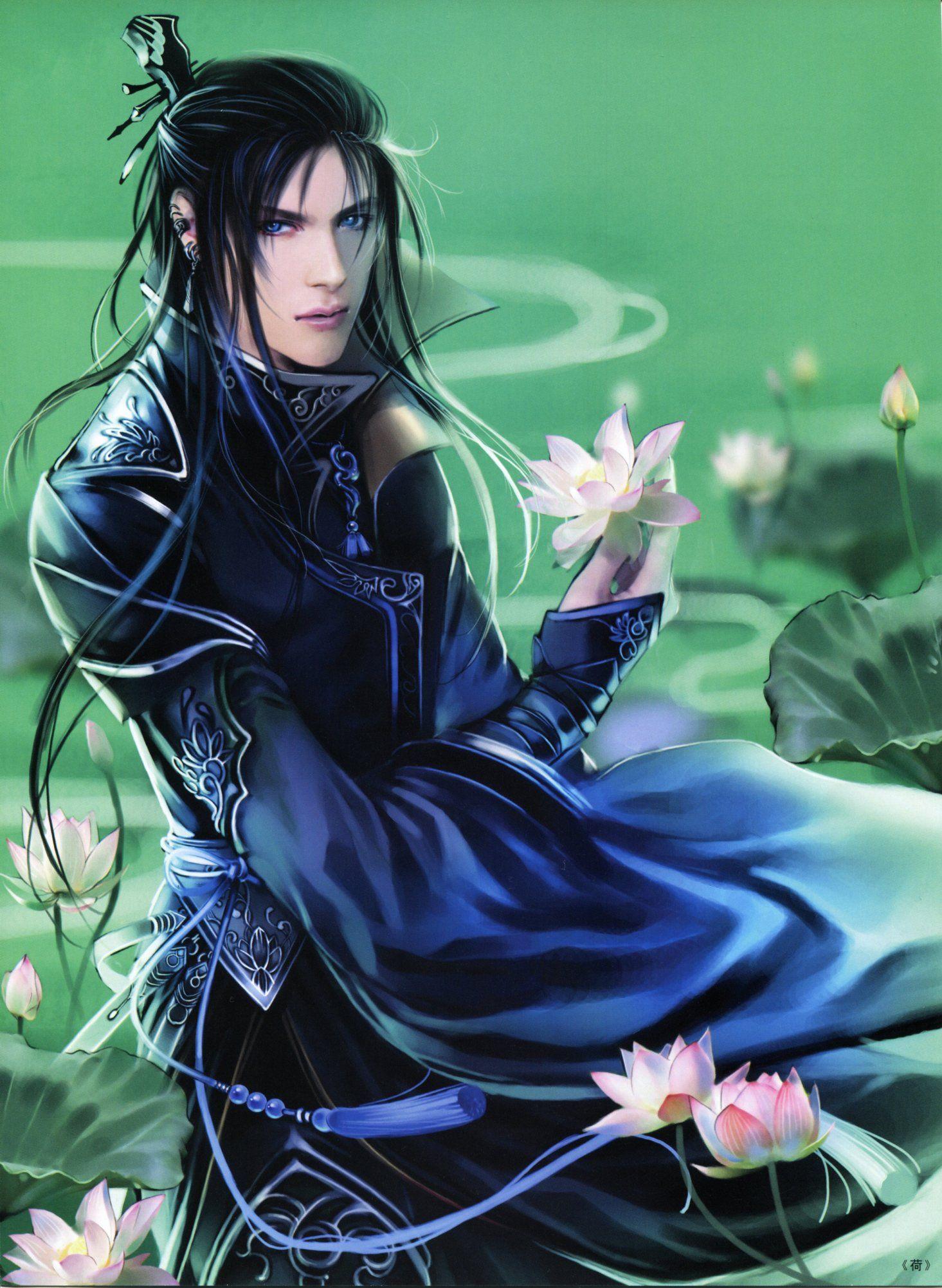 Heise Jinyao Fantasy art men, Fantasy art, Art