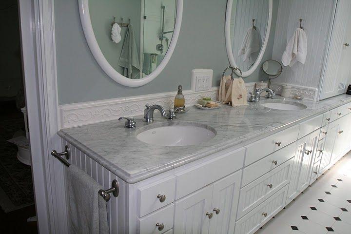 Marble Vanity Tops Bianco Carrara Marble Vanity Tops 3902