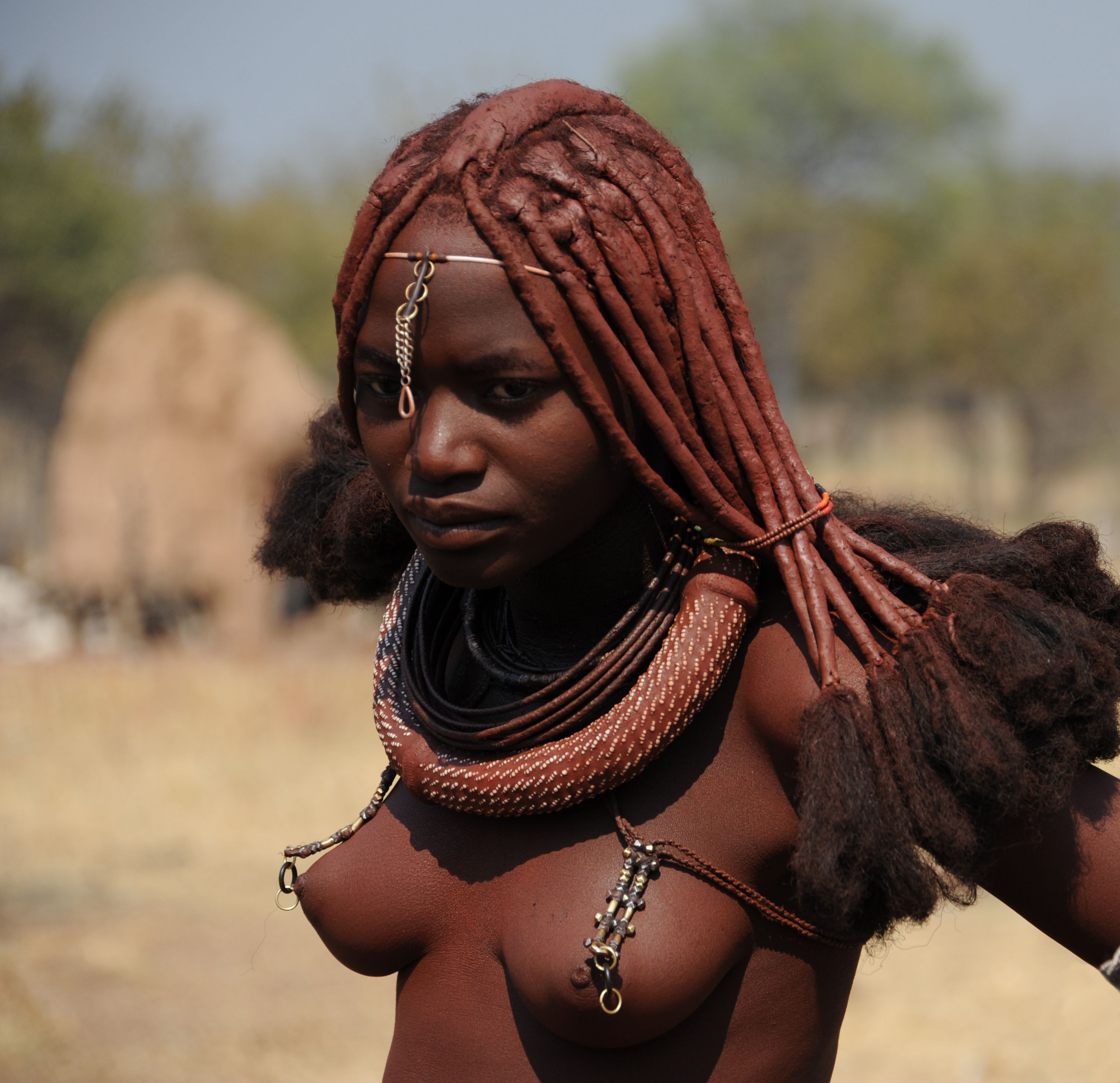 tribe girl young african Himba