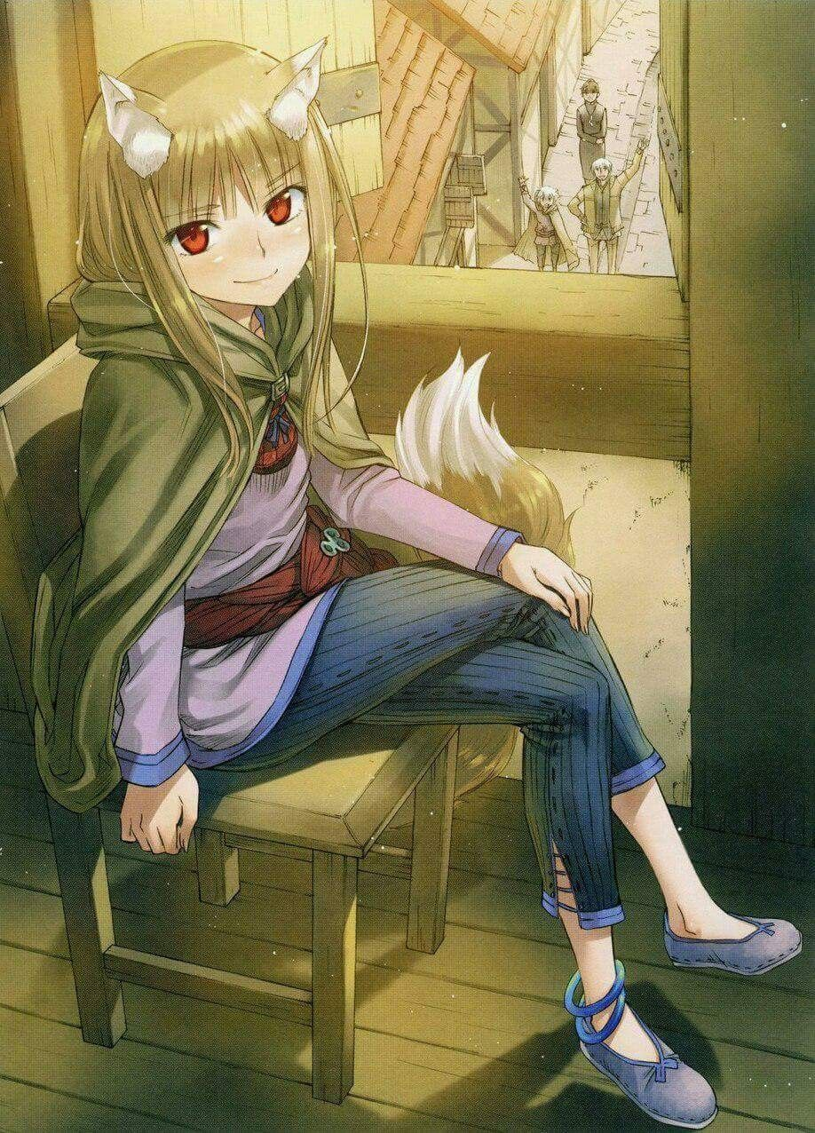 Pin By Hxllhound On Spice And Wolf Spice And Wolf Holo Anime Wolf Girl Spice And Wolf
