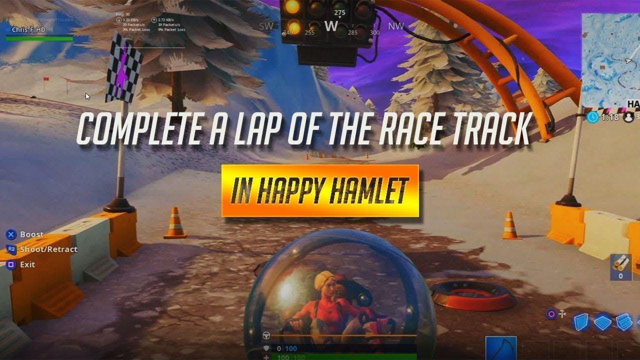 happy hamlet race track