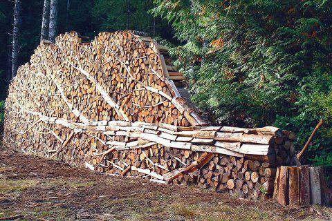 En zo het hout bewaren