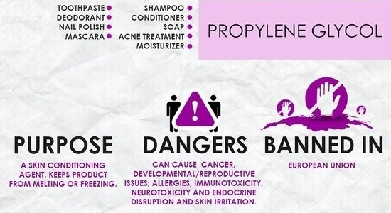 Avoid Propylene Glycol In Your Deodorants Mascaras Shampoos Conditioners And Antiperspirants It Is A Cosmetic Toxin Natural Eliminar