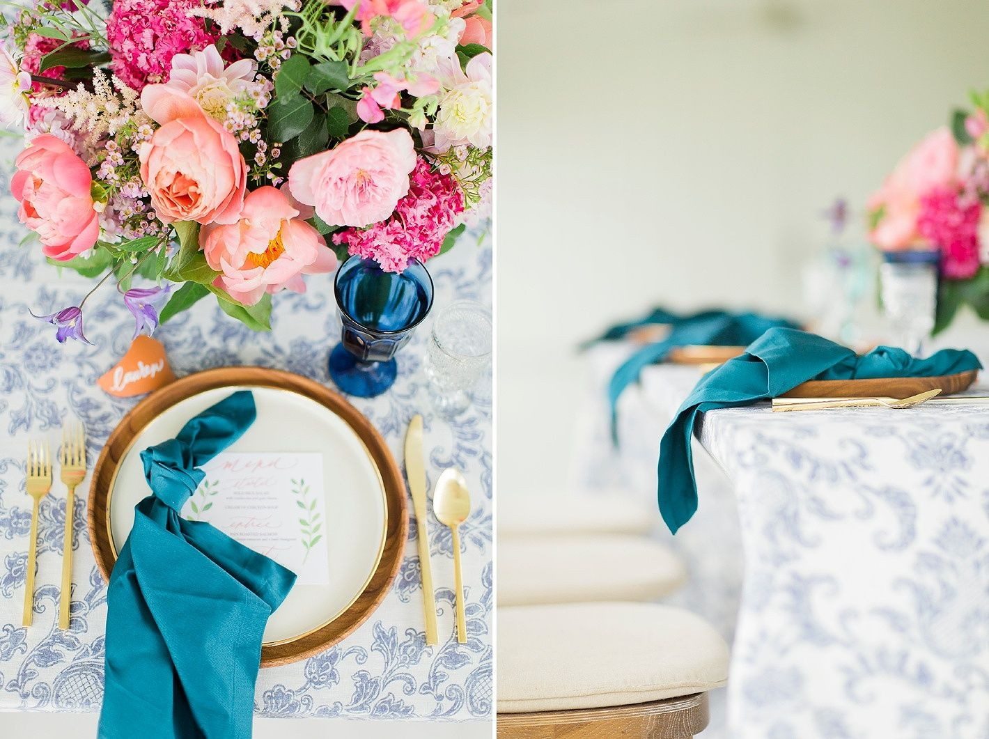 Old Fashioned Blue And Purple Wedding Decor Ideas - The Wedding ...
