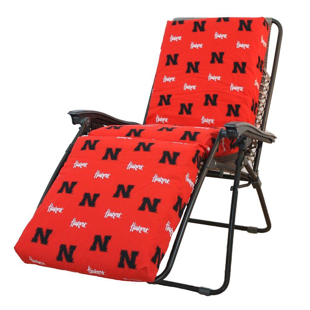 Nebraska cornhuskers zero gravity chair cushion in products