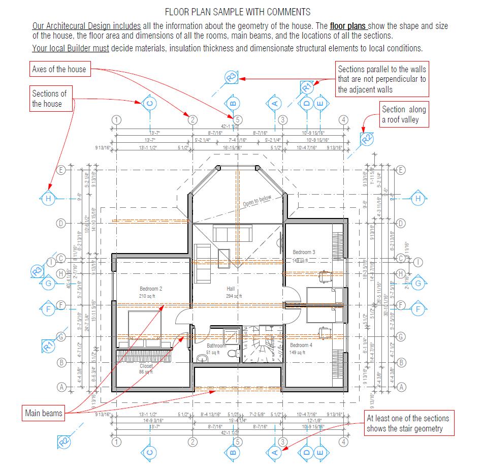 Sample Files | House Plans U0026 House Designs