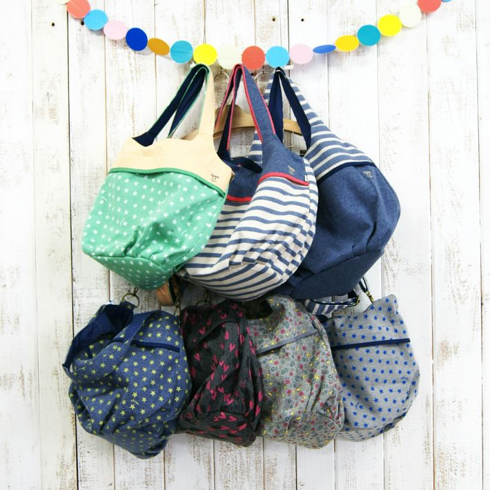 rough-heart | Rakuten Global Market: 2WAY bun tote bag