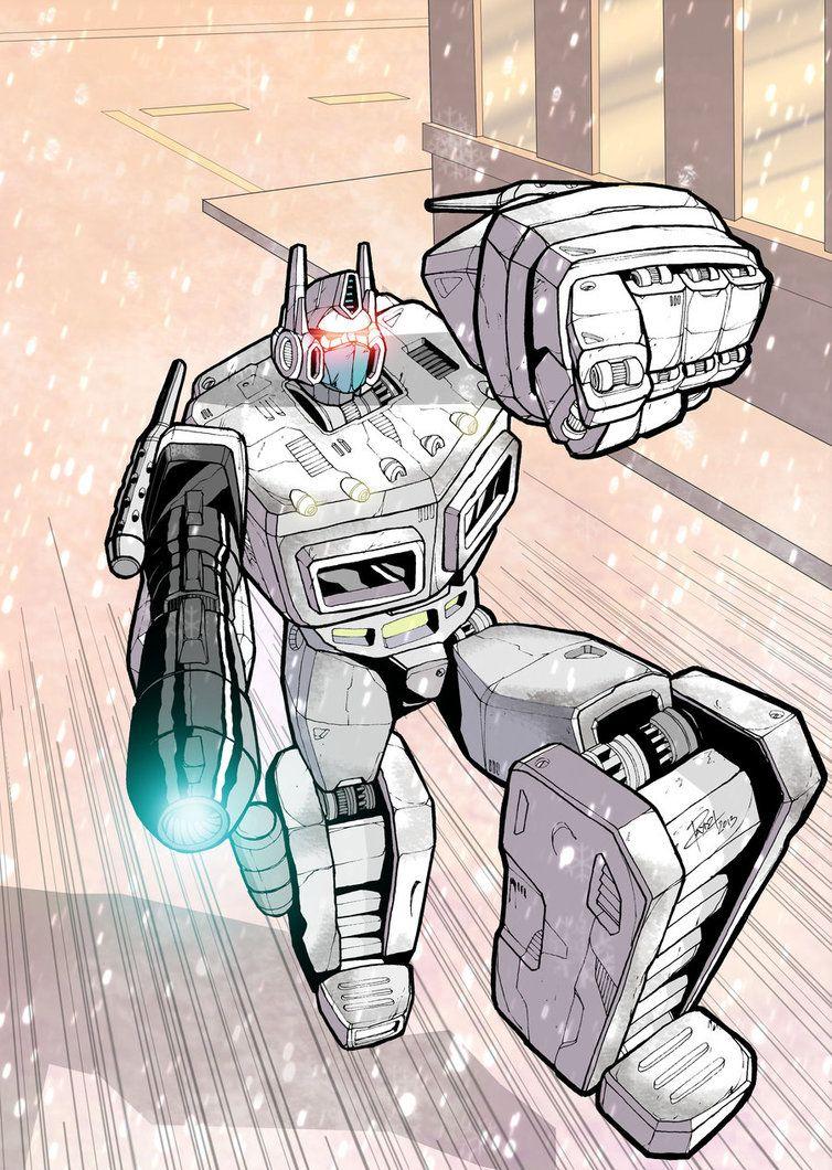 Brothers Prime - Ultra Magnus by J-Rayner on DeviantArt
