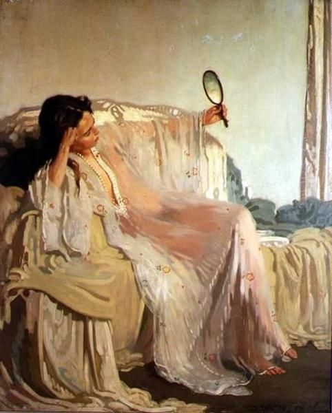 Sir William Orpen, The Eastern Gown