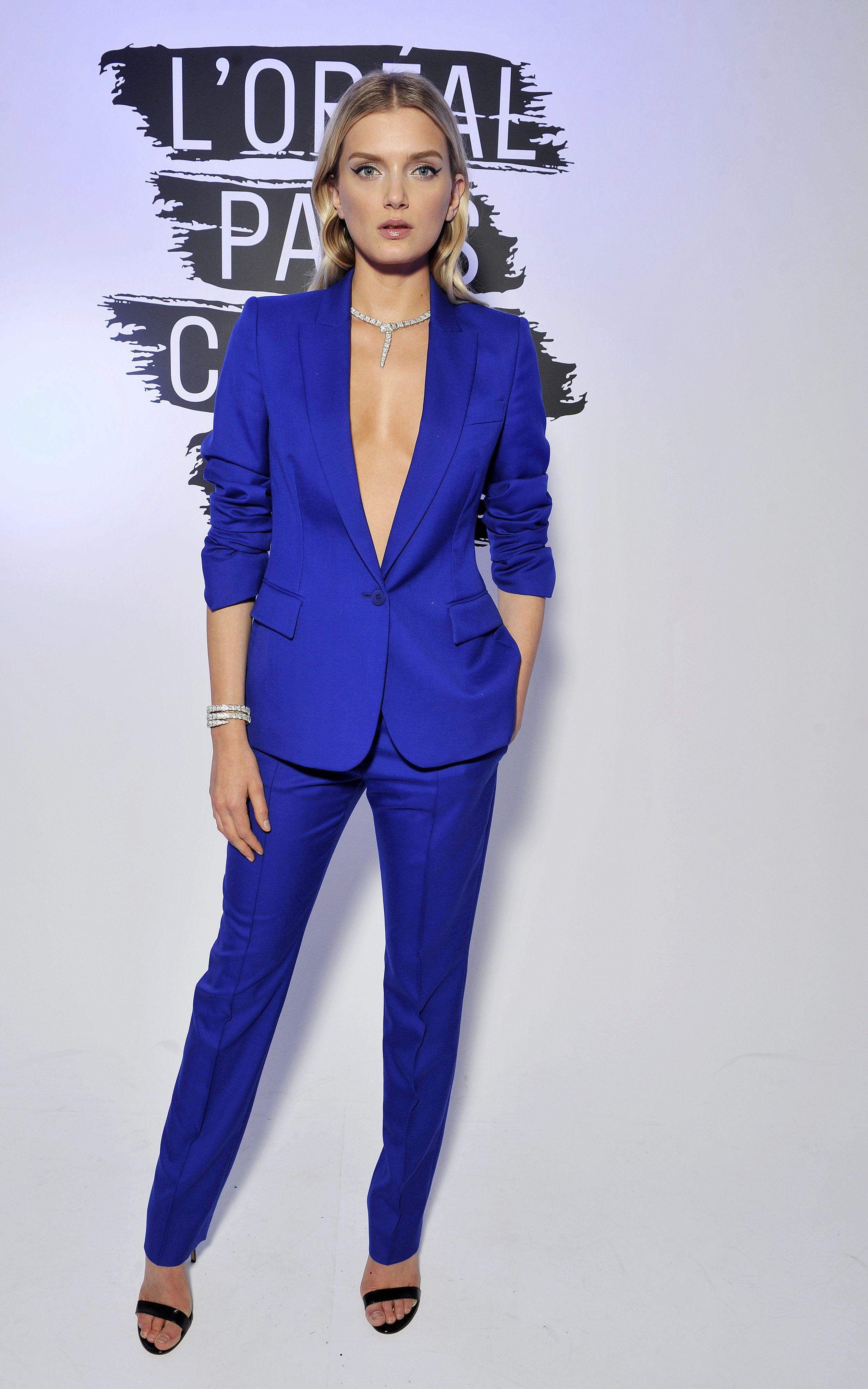 9626964bdc5a3 Trouser suits | Suits | Ladies trouser suits, Pantsuits for women ...