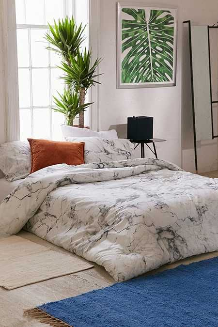 Allergy Shield Soft Pillow Set Marble Comforter Home