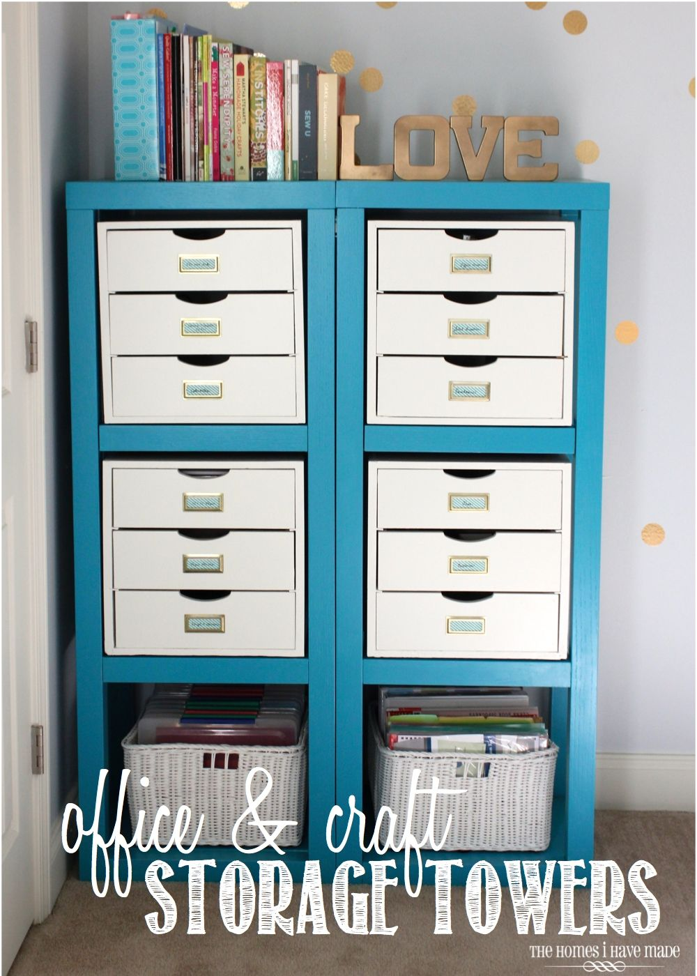 Office u craft storage towers craft storage storage and organizations