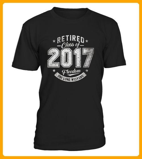 Retired 2017 Shirt Funny Retirement G - Shirts für frau mit herz (*Partner-Link)