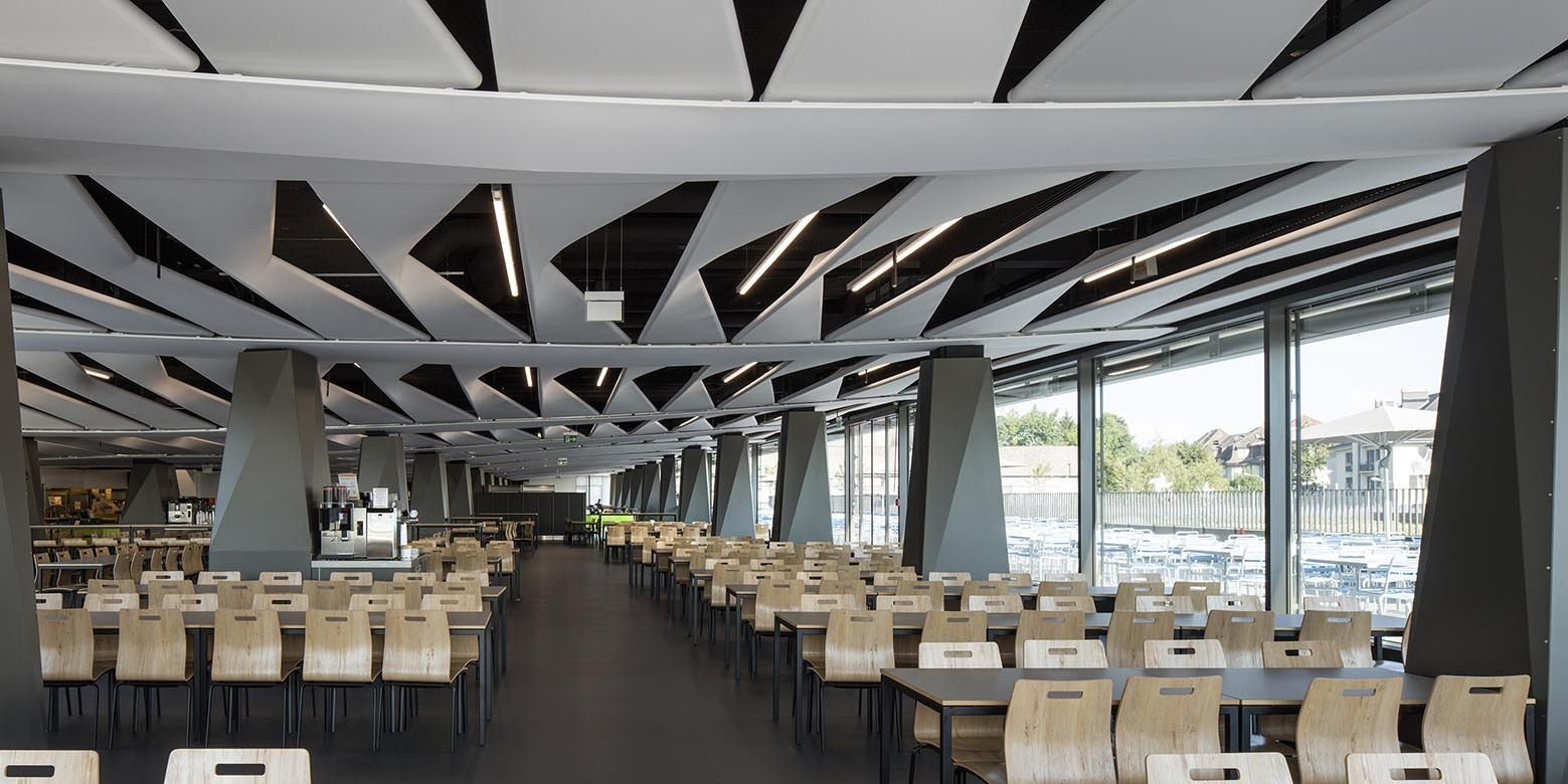 Gallery of lausanne university hospital restaurant for Atelier cuisine lausanne