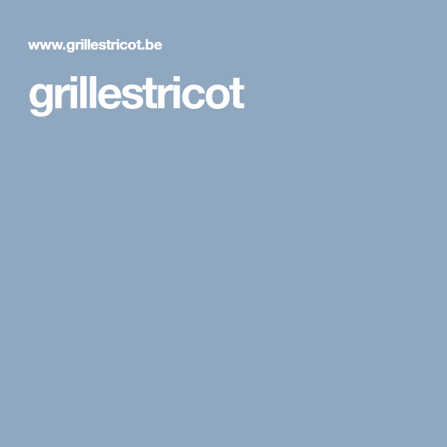 grillestricot