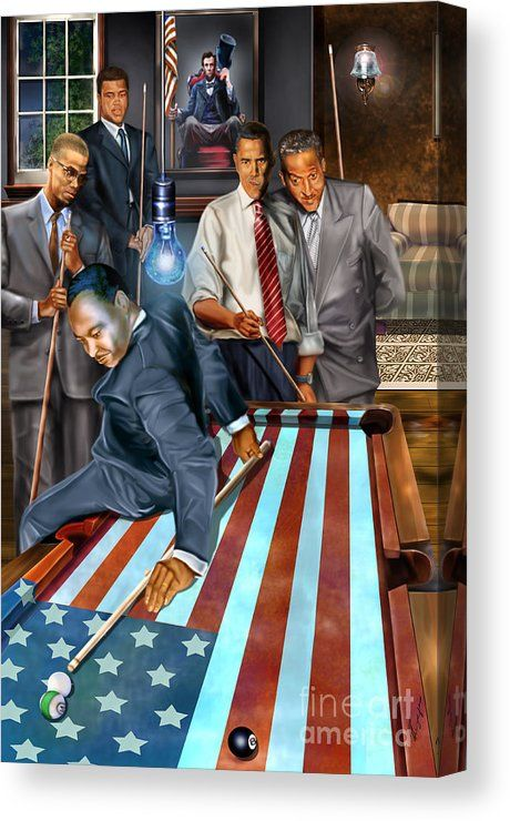 The Game Changers and Table runners Canvas Print