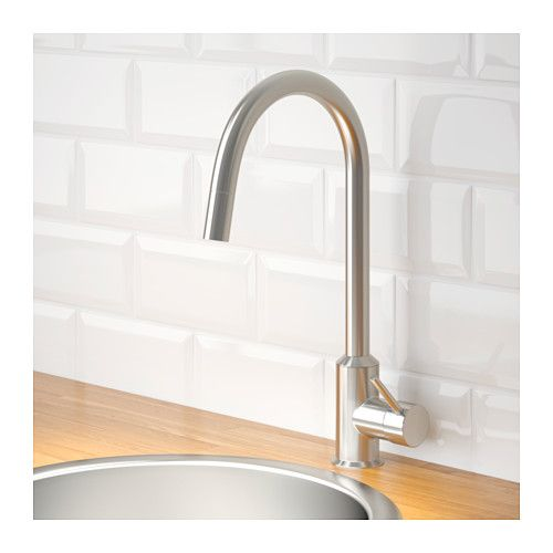 IKEA   RINGSKÄR, Kitchen Mixer Tap W Pull Out Spout , 10 Year Guarantee.  Read About The Terms In The Guarantee Brochure.You Save Water And Energy,  ...