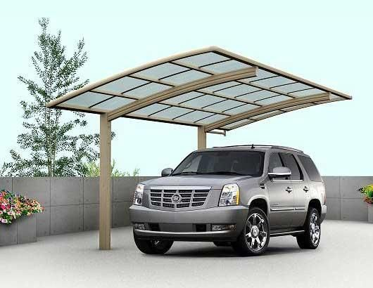 Your Carport Can Be Customized According To Your Needs And Preferences We Of Hipages Com Au Cantilever Carport Aluminum Carport Carport Designs