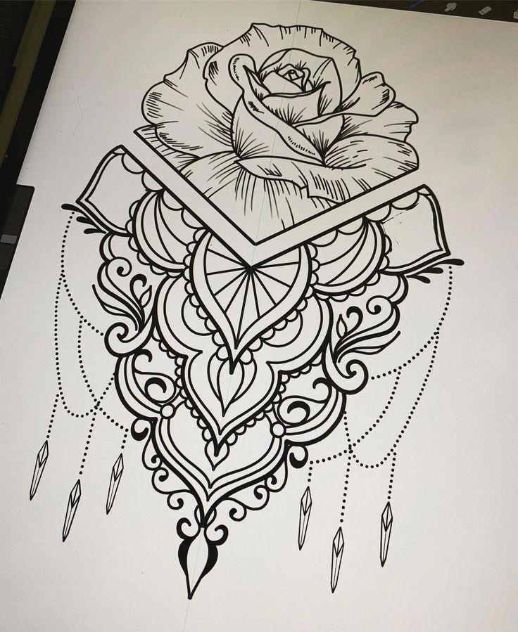 mandala arm tattoo mandalatattoo tattoo arm frau blumen t towierungen tattoo ornamente
