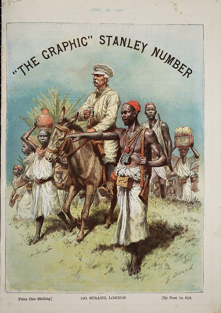 Stanley Number Special issue of The Graphic , April 30, 1890 - dr livingstone i presume book