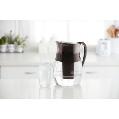 Brita Large 10 Cup BPA Free Water Pitcher with 1 Longlast Filter