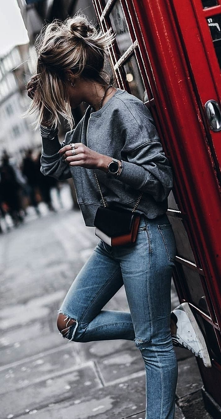(26) Beautiful Ladies With Different Street Styles - 2019 Spring - Summer Street Fashion Page No 12 #trendystreetstyle