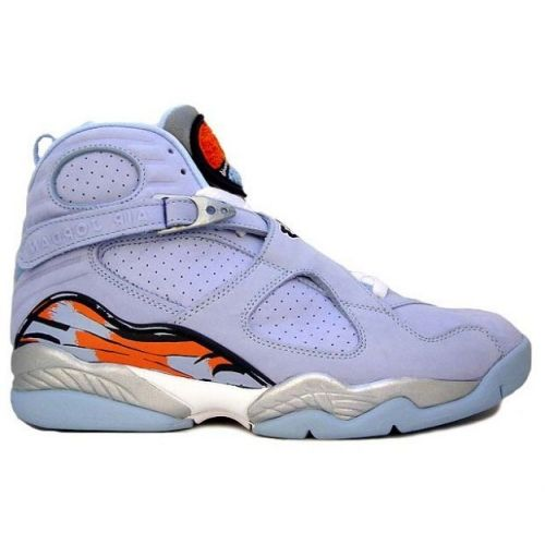 new style 5625a 5ba64 Air Jordan 8 (VIII) Retro WMNS Ice Blue Silver Orange Blaze 316836-401