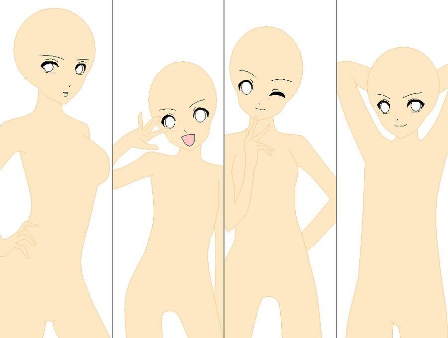 Group Base Drawing Base Concept Art Drawing Anime Base