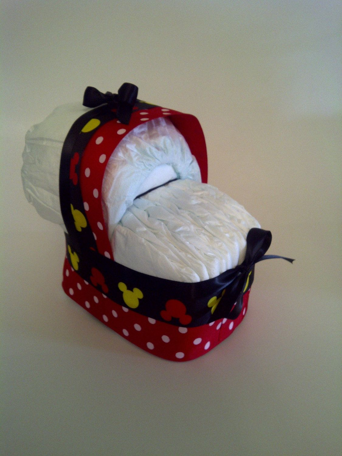 Mickey Mouse Baby Shower | ON SALE Baby Diaper Bassinet Mickey Mouse  Clubhouse Baby Shower