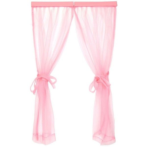 Pink Locker Decorative Curtain 5 99 Liked On Polyvore