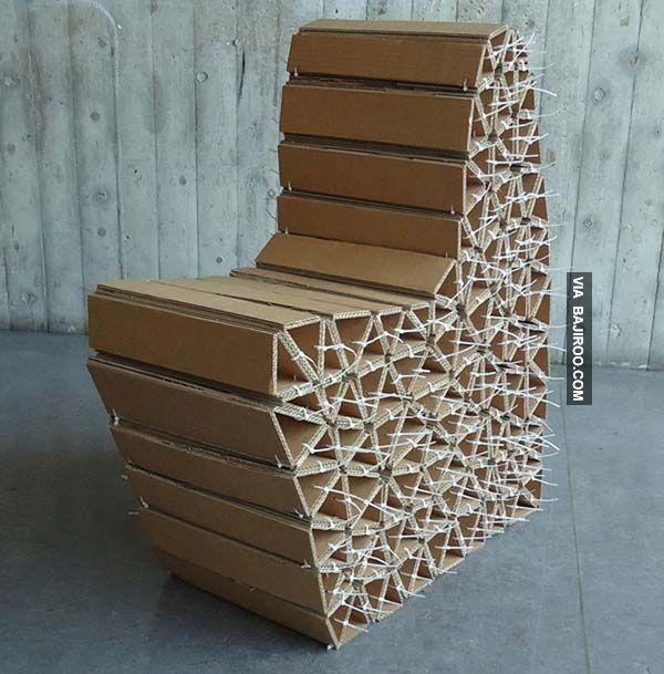 Pin By Cherylvjah On Furniture Cardboard Chair Paper Furniture Cardboard Design