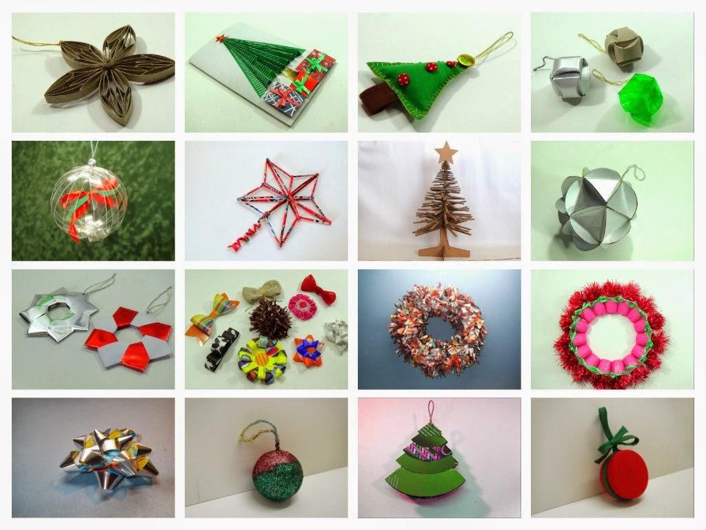 Reciclaje para navidad ideas reciclables pinterest for Materiales para manualidades navidenas