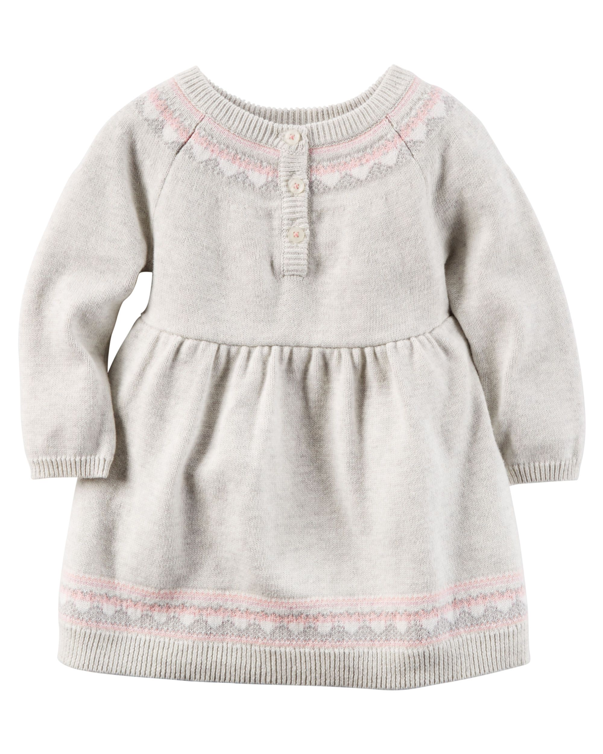 2de4ce426f78 Baby Girl Sweater Dress from Carters.com. Shop clothing ...